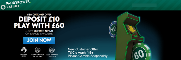 Paddy power casino 200 welcome bonus casinorewards
