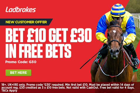 Ladbrokes Sign Up Bonus