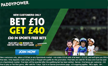 Paddy Power Sign Up Bonus