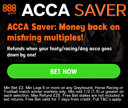 888sport ACCA Saver Money Back
