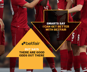 Betfair odds boosts for Today
