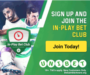 Unibet Free Bet Club – Get £10 Weekly for In-Play Betting