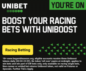 Get 3 Uniboosts for Horse Racing every day at Unibet