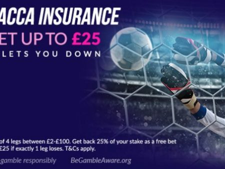 VBET 4-Fold Acca Insurance – Up to £25 back