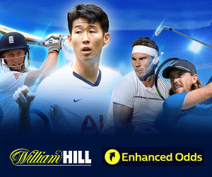 William Hill Enhanced Odds for Today